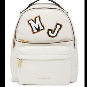 HUGE MARC BY MARC JACOBS LEATHER BACKPACK